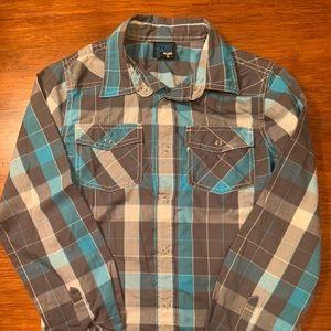 URBAN VINTAGE Button Down Western Shirt